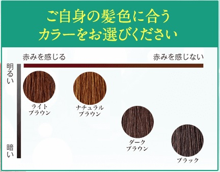 利尻カラーシャンプー4色の特徴